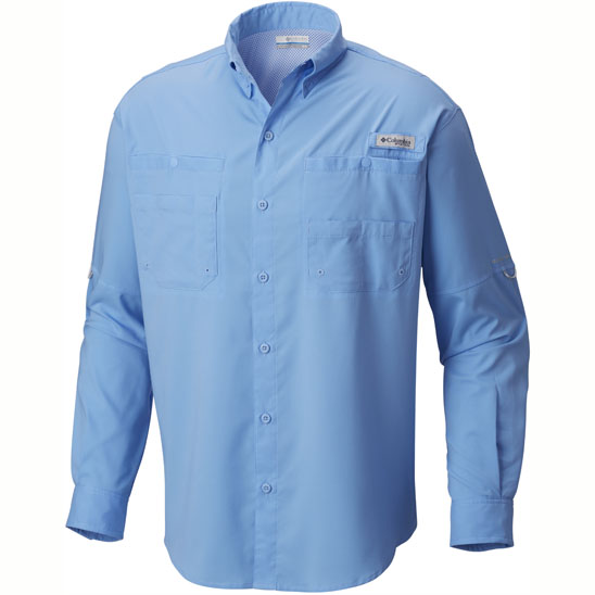 Columbia Sportswear PFG Tamiami II Long Sleeve Shirt for Men, Men's