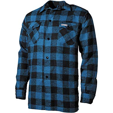 The lumberjack shirt is stylish and durable
