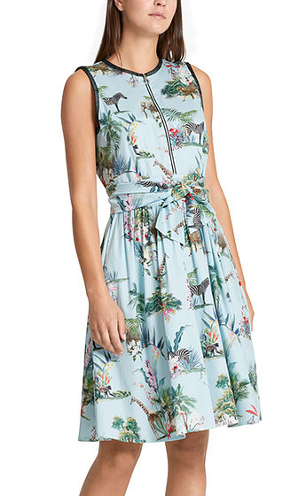 SKYLIGHT DRESS - Shop by Style-Dresses : Home - MARC CAIN SPRING 19