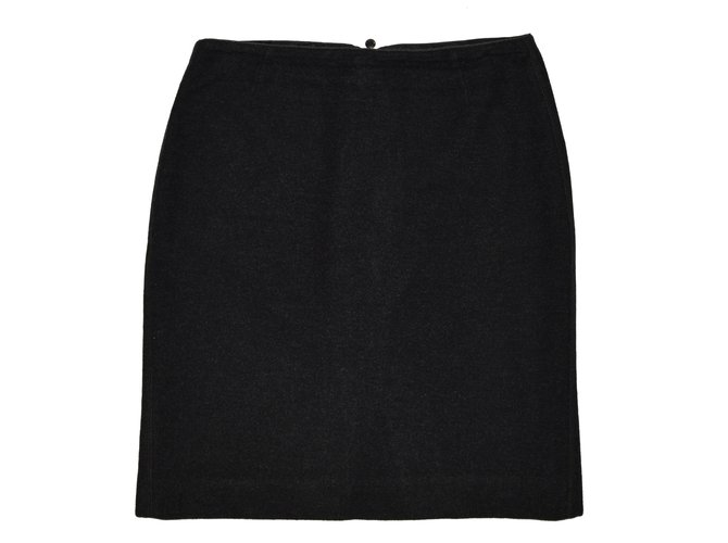 Marc Cain Skirts Skirts Wool Dark grey ref.63128 - Joli Closet