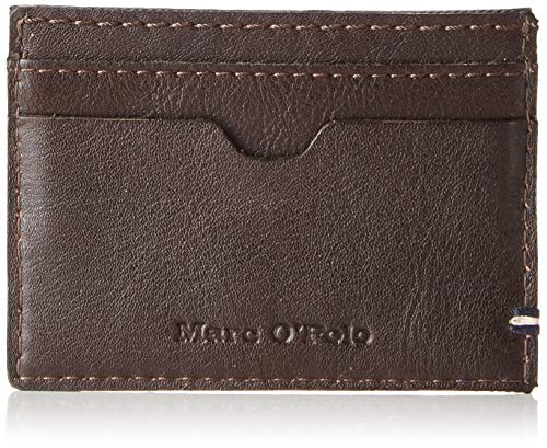 Marc O'Polo Men's Card Holder Card Cases Brown Size: 10x7x1 cm (B x