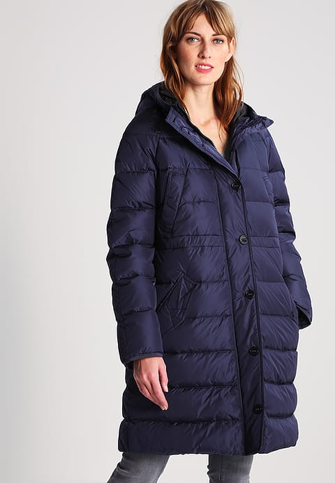 Women's Marc O'Polo Down Coat - Dark Atlantic - Jackets and Coats