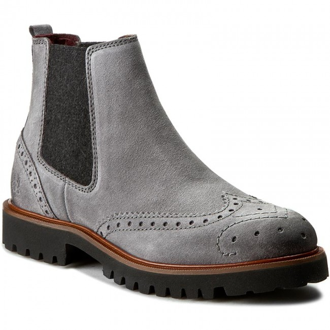 Ankle Boots MARC O'POLO - 608 12905001 300 Grey 920 - Elastic-sides