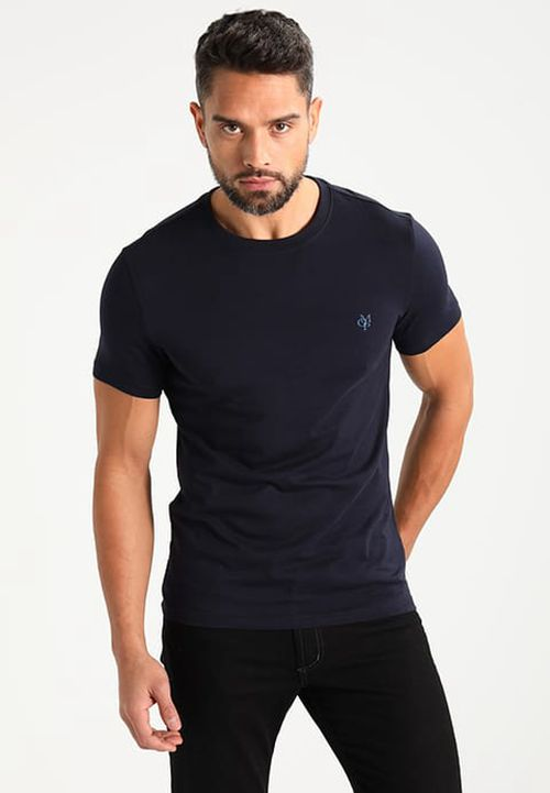 Marc O'polo - Men Basic T-Shirt Online - Dark Blue