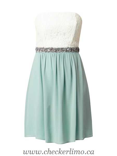 Dresses ( 9809794 ) - Blue / Turquoise - Women Evening dress with