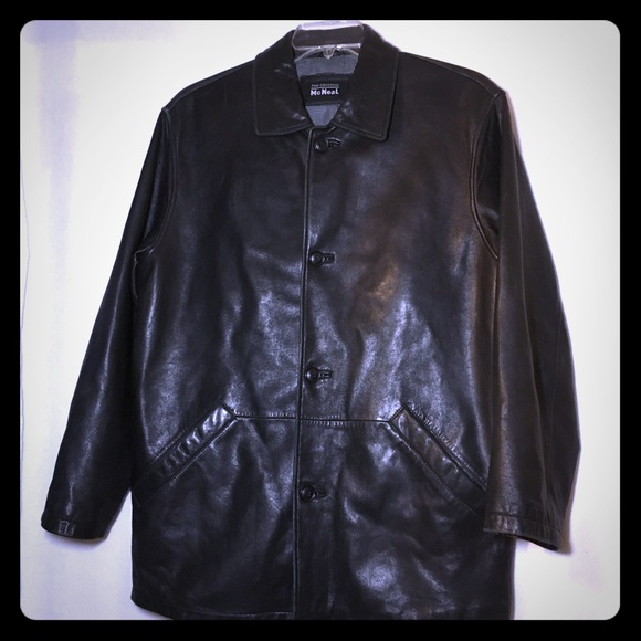 The Original McNeal Jackets & Coats | Black Leather Jacket | Poshmark