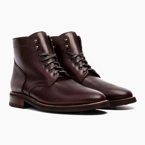 Men's Brown President Lace-Up Boot - Thursday Boot Company