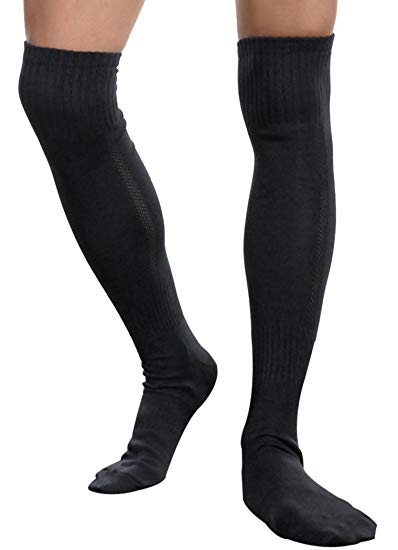 Long Stockings Men Socks Sports Football Socks Over the Knee Socks