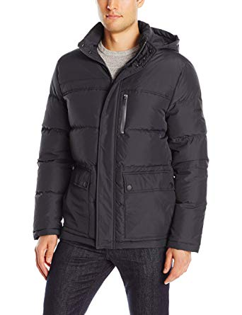 Kenneth Cole New York Men's Down Jacket with Hood at Amazon Men's