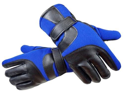 YQXCC Winter Mens Leather Gloves Touch Screen Outdoor Sports Cycling