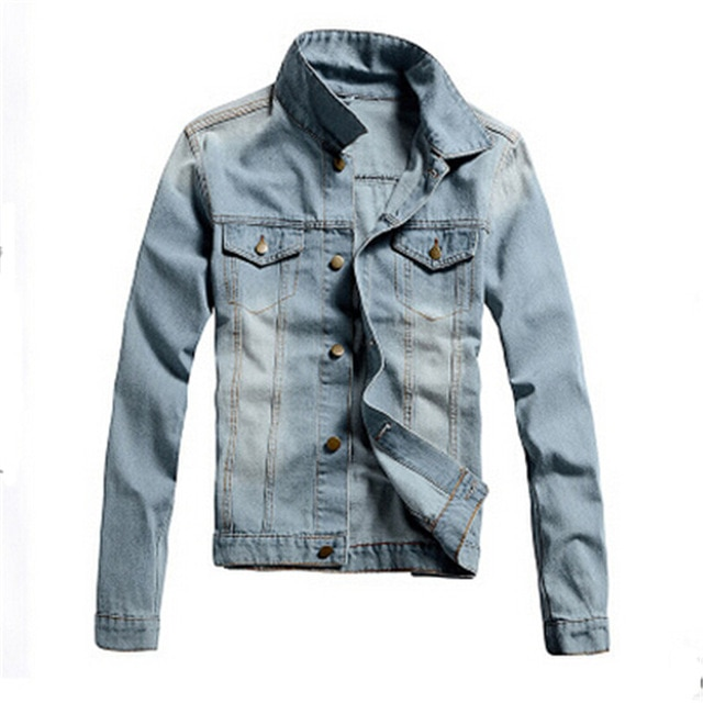 2016 Tops Jacket Men Jean jacket Denim jacket Latest Leisure Jacket