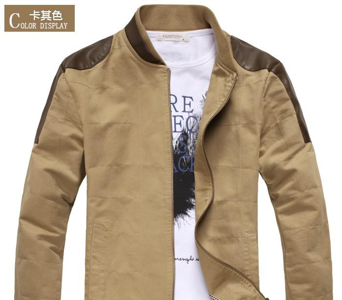 Men's Autumn Male Jacket Male Leisure Male Coat Male Korean Version