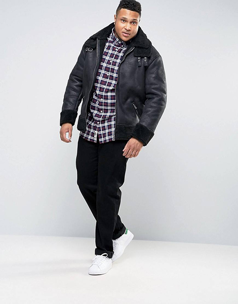 ASOS Men's Plus Size Collection Launches | Chubstr