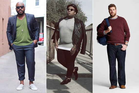 Meet the Plus-Size Male Models Who Just Might Change the Fashion
