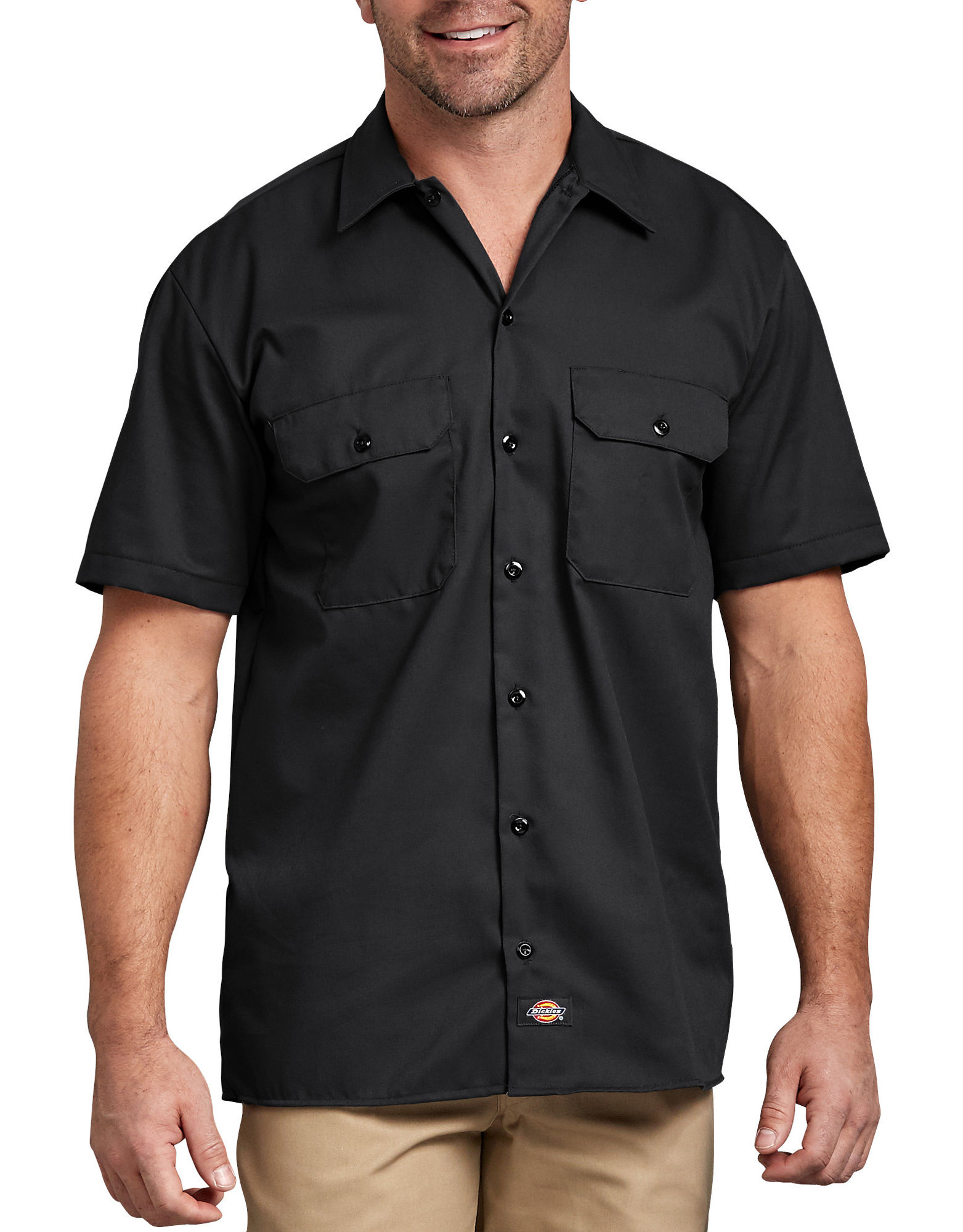 Short Sleeve Work Shirt | Mens Shirts | Dickies