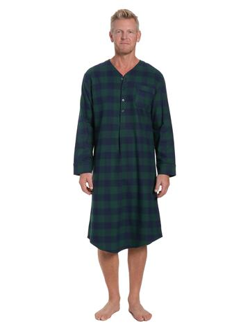 Men's 100% Cotton Flannel Sleep Shirts u2013 FlannelPeople