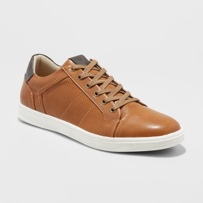 Men's Eddie Casual Sneakers - Goodfellow & Co™ Tan : Target
