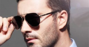 YOOSKE Brand Metal Sunglasses Men Polarized Driving black male Sun