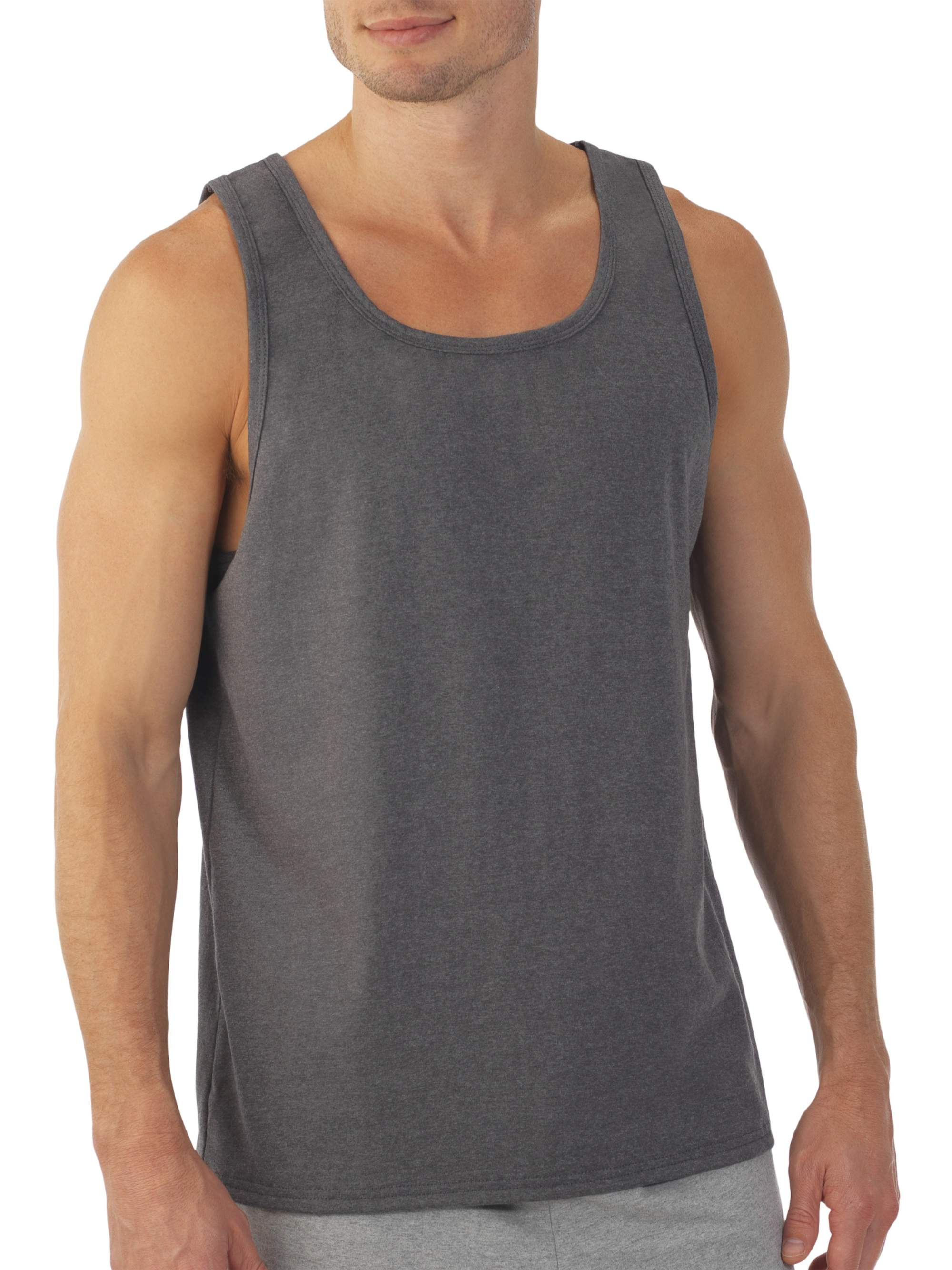 Fruit of the Loom - Men's Soft Jersey Tag Free Tank Top - Walmart.com