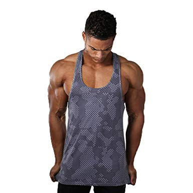 Amazon.com: Fitsical Men Tank Tops Breathable Quick-Drying Vest