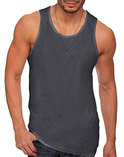 Next Level Apparel mens Next Level Premium Jersey Tank(3633) at