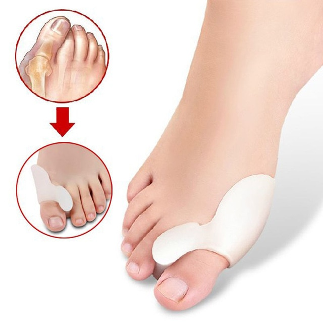 1 Pair New Hot Sale Unisex Women Men Toe Separators Gel Orthotics
