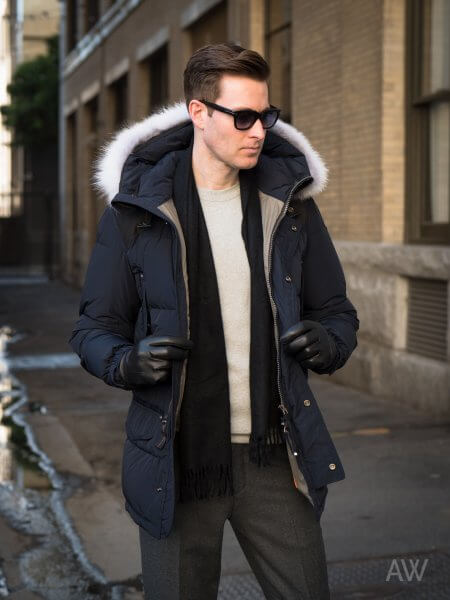 Fall Winter Coats Jackets For Men - Parkas