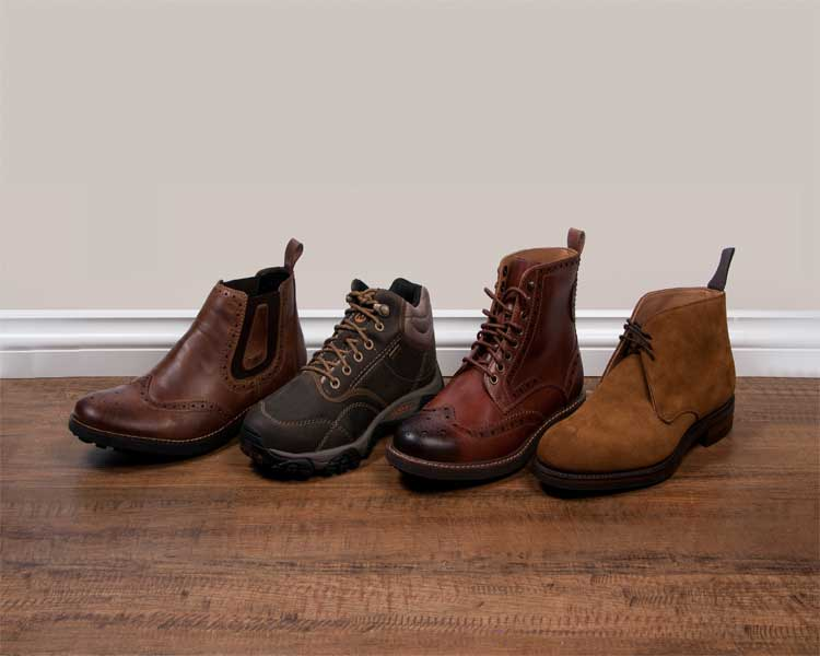 Winter Shoes - 4 Essential Men's Boot Styles - Men Style Fashion