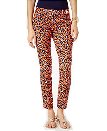 MICHAEL Michael Kors Women's Miranda Printed Skinny Pants at Amazon