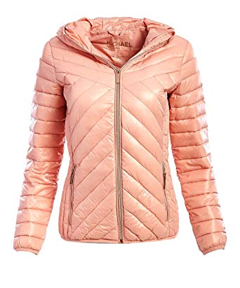 Amazon.com: Michael Michael Kors Women's Pink Down Packable: Clothing