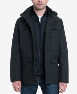 Michael Kors Men's Wool Blend Coat & Reviews - Coats & Jackets - Men