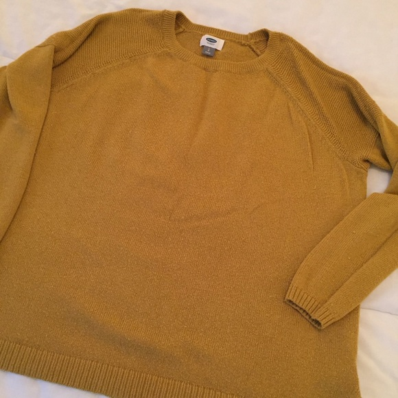Old Navy Sweaters | Mustard Yellow Pullover Sweater From | Poshmark