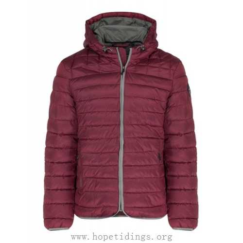 Napapijri Aerons Lightweight Quilted Jacket - Mineral Red Men