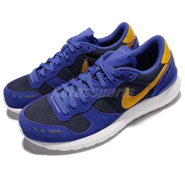 WMNS Nike Air VRTX 17 Vortez Blue Gold Women Vintage Shoes SNEAKERS