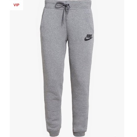 Nike jogging / tracksuit bottoms grey size medium. Worn a of - Depop