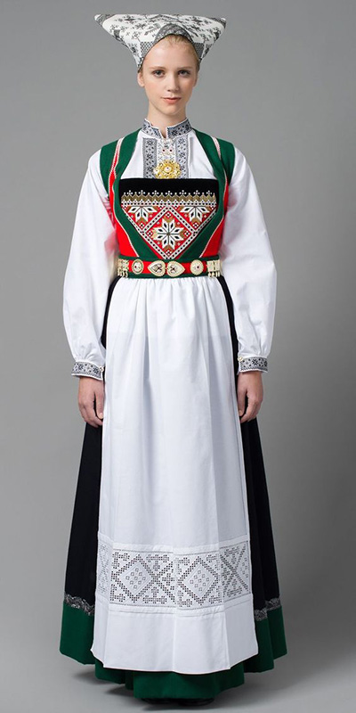 Bunad u2013 beautiful national outfit of Norway - Nationalclothing.org
