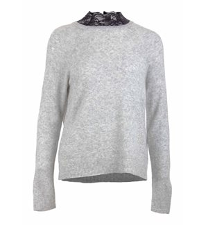 ONLY - onlIsabelle Women's Grey Sweater