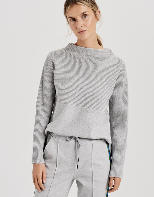 Jumper Panta rib grey by OPUS | shop your favourites online