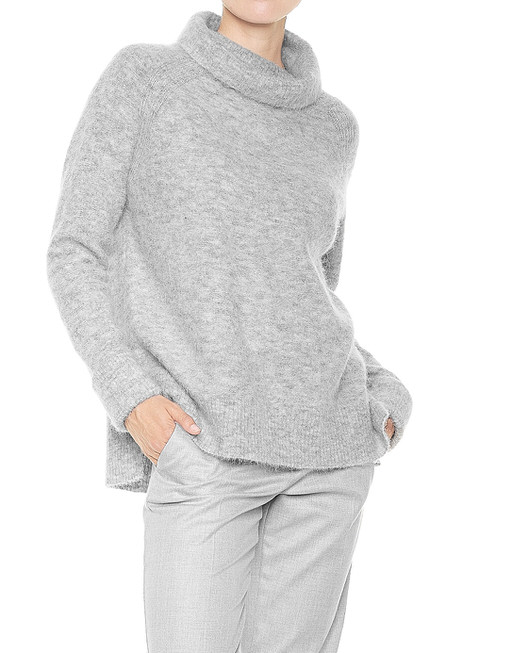 Turtleneck jumper Plom grey by OPUS | shop your favourites online