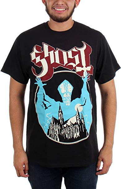 Amazon.com: Ghost - Mens Opus T-shirt in Black: Clothing