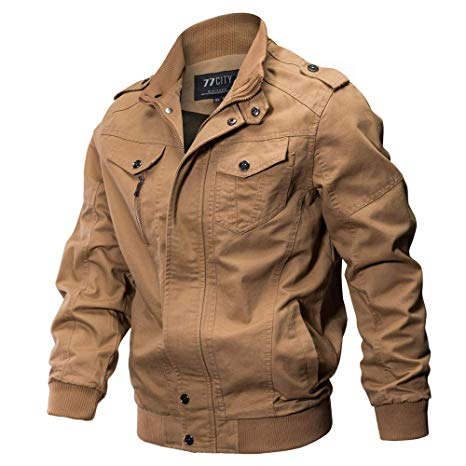 Amazon.com: Easytoy Men's Fall Cotton Winter Casual Windproof