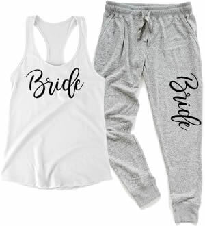 Personalized Bridal Party Pajamas | Bride Pajamas | Bridesmaid