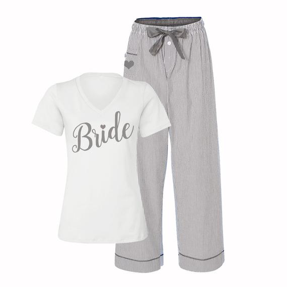 Pajamas for the bride