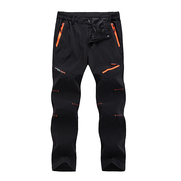 Waterproof Hiking Straight Leg Sport Pants Mens Outdoor Quick Drying