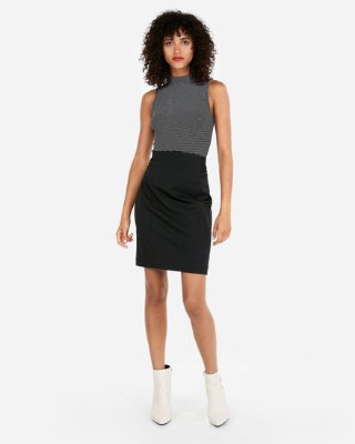 High Waisted Extreme Stretch Pencil Skirt | Express