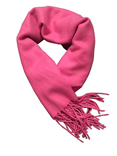 PINK SCARF: Cashmere Feel Scarf 72