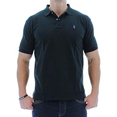 Polo Ralph Lauren Classic Fit Mesh Polo at Amazon Men's Clothing store: