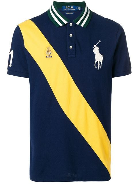Polo Ralph Lauren classic-fit mesh polo shirt $143 - Buy Online