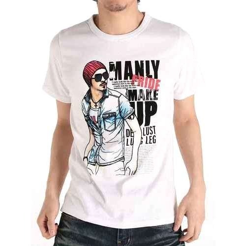 Mens Cotton Printed T Shirt, Size: S, M & L, Rs 130 /piece | ID