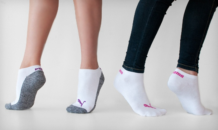 $20 for 12 Pairs of Puma Socks for Women | Groupon